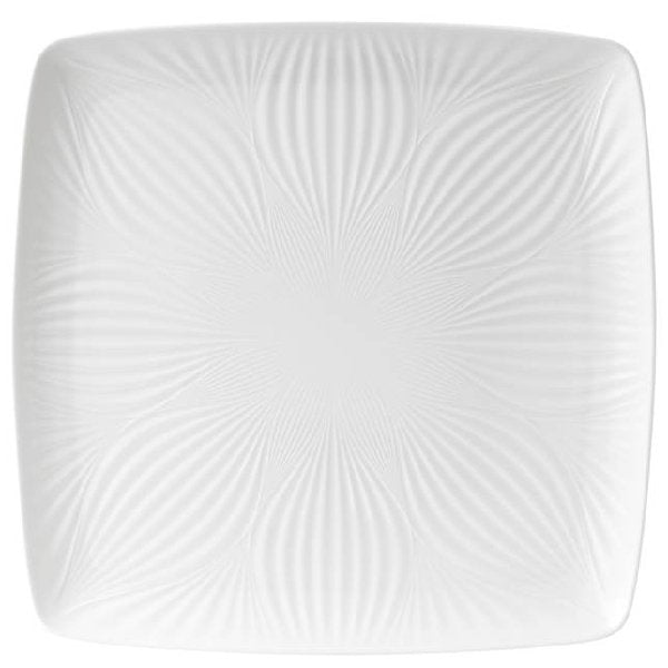 Wedgood White Folia Square Tray - Boutique Marie Dumas