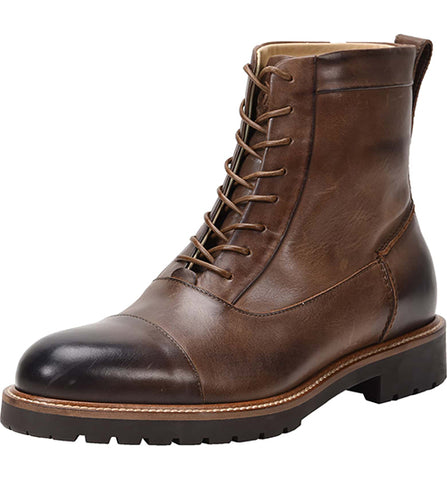 Cap Toe Weatherproof Boot