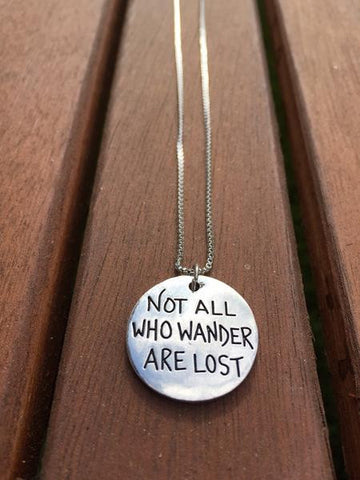 "Globetrotter ""Wanderer"" Necklace"