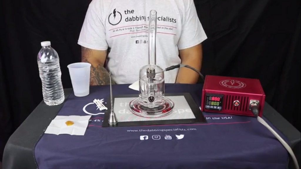 How to Dab with a TDS Enail