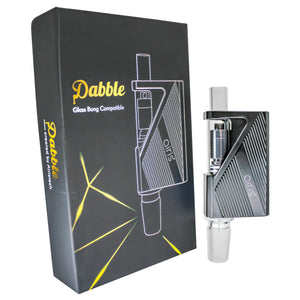 Dabble Dual Use Wax Vaporizer_Black with Box