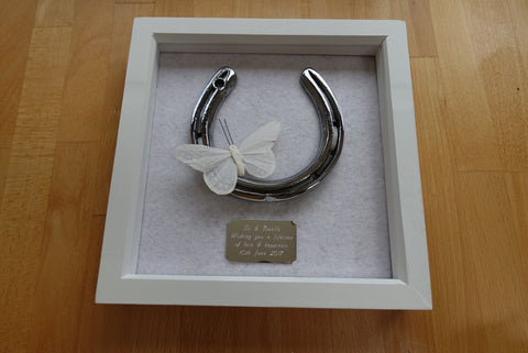 Horseshoe for Wedding Gift in Steel