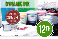 Screen Printing Plastisol Ink - Dynamic Ink