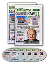 Computer T-Shirt Separation Training - CorelDRAW 11.0 and Higher - 4 DVDs Set