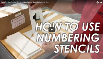 How to Use Numbering Stencils