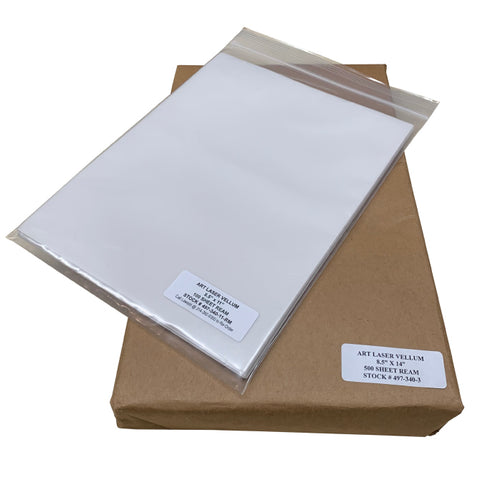 Lawson Art Laser Vellum for Economical Paper Positives | Lawson Screen & Digital Products