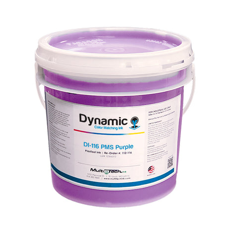 Screen Printing Plastisol Ink Purple
