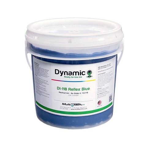 Dynamic Reflex Blue Plastisol Ink | Lawson Screen & Digital