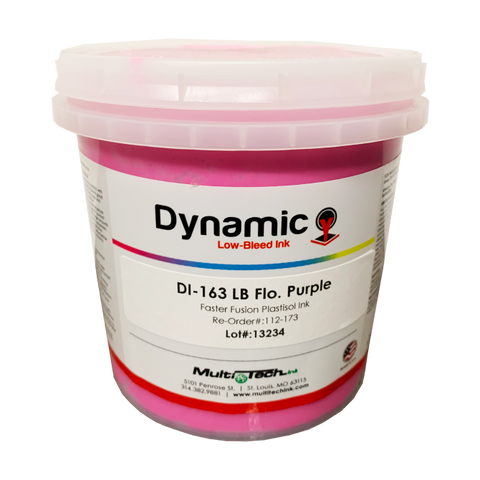 Opaque Flo Purple DI - 163 low bleed plastisol ink