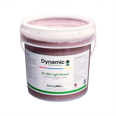 Dynamic Light Brown Plastisol Ink | Lawson Screen & Digital