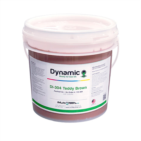 Dynamic Teddy Brown 304 Plastisol Ink | Lawson Screen & Digital