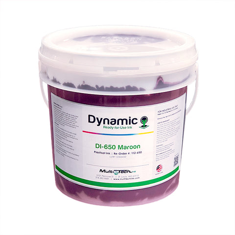 Dynamic Maroon 650 Plastisol Ink | Lawson Screen & Digital