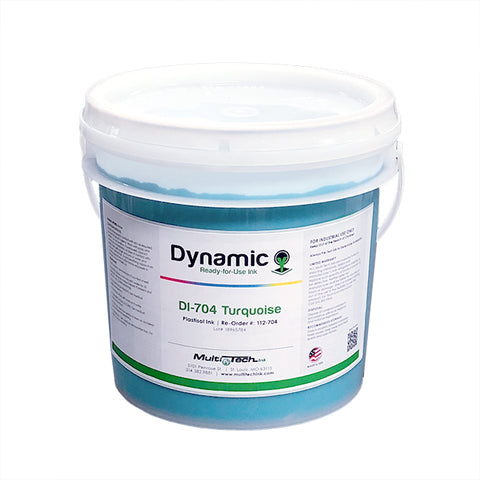 Dynamic Turquoise 704 Plastisol Ink | Lawson Screen & Digital