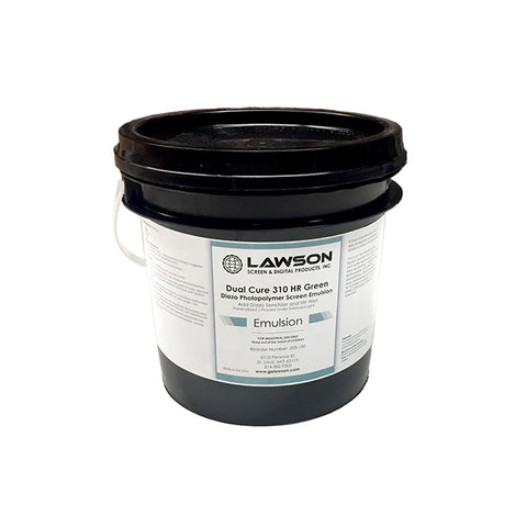 Dual Cure 310 HR Green Emulsion | Lawson Screen & Digital Products