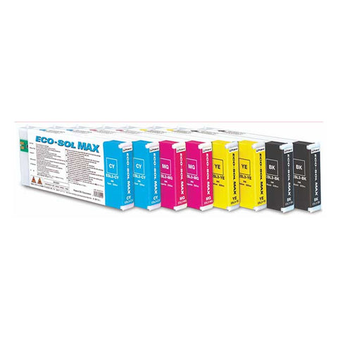 Eco-Sol MAX Roland Inkjet Ink Cartridges 220cc