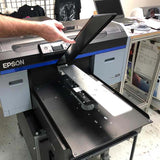 Long Sleeve Platen on an Epson F2100 Direct-to-garment Printer