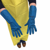 Industrial Flocked Lined Gloves | Lawson Screen & Digital Products