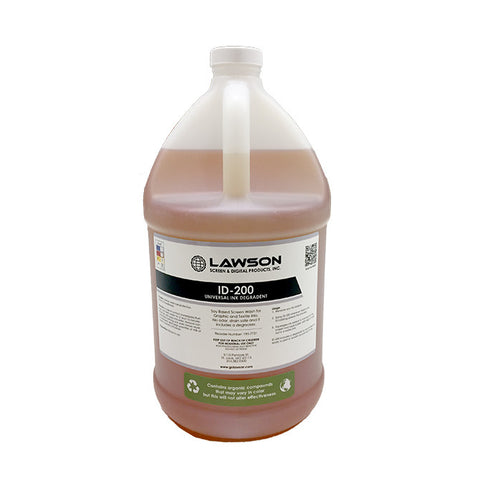 Lawson ID-200 Universal Soy Based Ink Degradent | Lawson Screen & Digital Products