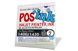 Epson 1400/1430 POSink Dye Black Ink Cartridge | Lawson Screen & Digital Products
