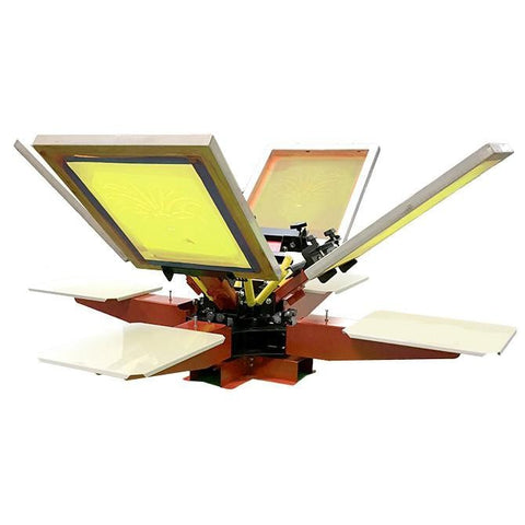 Proton Manual Screen Printing Press Bench Model | Lawson Screen & Digital