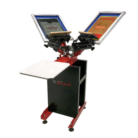 Scout Manual Screen Printing Press with Floor Stand