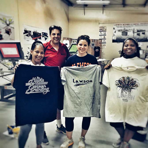 Screen Printing Textile Tech Class Atlanta Lawson Screen Digital Products