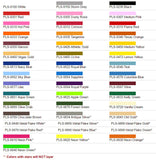 Specialty Materials Thermo Flex Colors