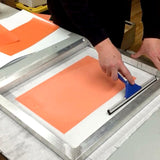 Applying Ulano EZ Screen Printing Capillary Film | Lawson Screen & Digital