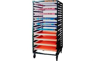 Deluxe-Adjustable Screen Drying Rack | Lawson Screen & Digital Products