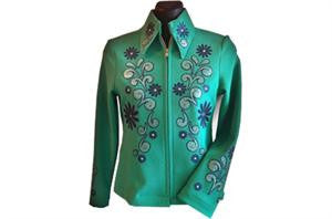 jacket with Specialty Materials Glitter Flex Ultra design
