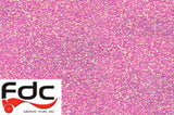 Pink Glitter Film with FDC logo