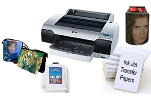 Inkjet Heat Transfer Printer and Items Package