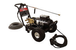 Industrial Electric High Pressure Washer on wheels