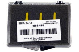 Roland 45 Degree Angle / .25 Offset All Purpose Blades (3 pack)