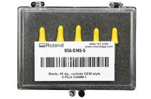 Roland 45 Degree Angle / .25 Offset All Purpose Blades (5 pack)