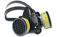 Half Mask Respirator for protection against Screen Printing hazardous particles