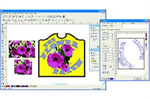 Intelligent screen printing design software