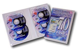 T-Shirt Graphics with Adobe Photoshop 7.0 - 4 DVDs