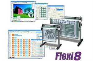 Vinyl and Heat Transfer software Flexi8