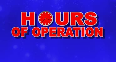 Hours Of Operation 1