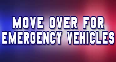 Pull Over For Emergency Vehicles