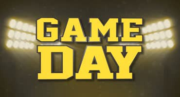 Game Day Yellow Black
