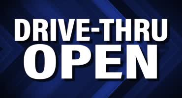 Drive Thru Open Right
