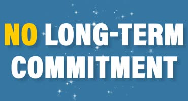 No Longterm Commitment
