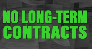 No Longterm Contracts