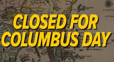 Closed Columbus Day