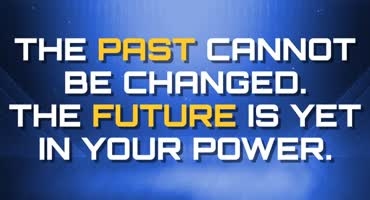 Past Cannot Be Changed