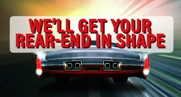 We Will Get Your Rear End in Shape