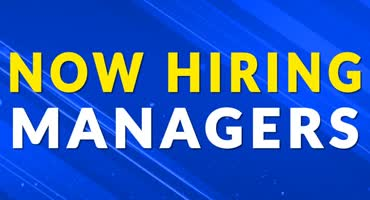 Now Hiring Managers