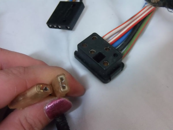 WIRING CONNECTION TO ADDITIONAL MIRROR (NLA PART) - 61121364105